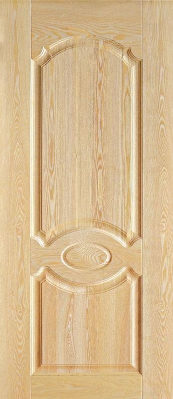 Moisture Resistant Veneered MDF Door Skin For Toilet Bathroom Doors Customized Color